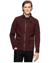 Calvin Klein Jeans - Red Off Road Jacket for Men - Lyst