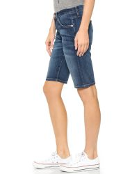 Current/Elliott | Blue The Bermuda Shorts - Atwater | Lyst