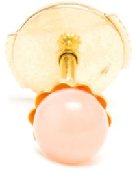 Yvonne Léon - Pink 18Kt Gold Coral Stud Earring - Lyst