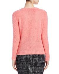 Essentiel Antwerp   Pink Crewneck Sweater   Lyst