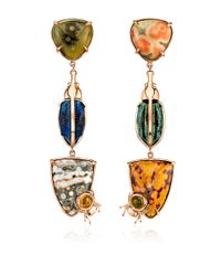 Daniela Villegas | Multicolor One Of A Kind Tundra Earrings | Lyst