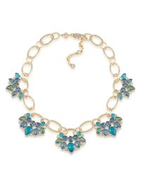 Carolee | Metallic Niagara Mist Statement Necklace | Lyst