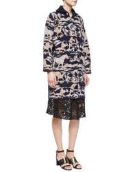 See By Chloé | Black Lace A-line Knee-length Skirt | Lyst