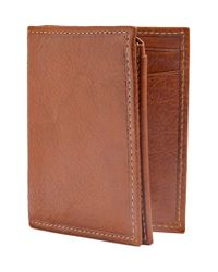 Trafalgar - Brown 'hawthorne' L-fold Wallet for Men - Lyst