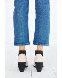 Urban Outfitters - White Elastic Ankle Boot - Lyst