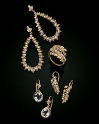 Jamie Wolf - White 18K Vine Wrap Ring With Diamonds - Lyst