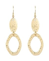 Hobbs | Metallic Sonja Earrings | Lyst