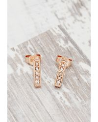 Forever 21 | Metallic Shashi Tracy Studs | Lyst