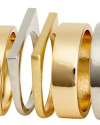 H&M | Metallic 10-Pack Rings | Lyst