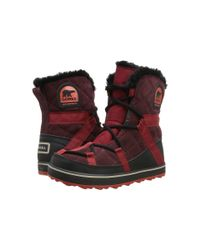 Sorel | Brown Glacy™ Explorer Shortie | Lyst