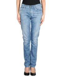 Citizens of Humanity | Blue Denim Trousers | Lyst