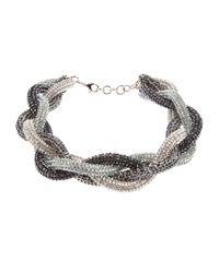 Atelier Swarovski | Blue Twist Necklace | Lyst