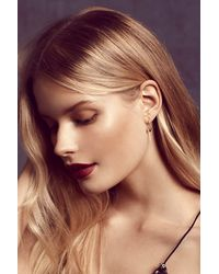 Free People | Metallic Ivy Threader Earrings | Lyst