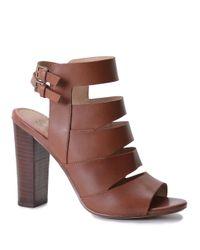 Splendid | Brown Janna Heeled Gladiator Sandals | Lyst