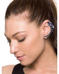 BaubleBar   Blue Winged Crystal Ear Cuff   Lyst