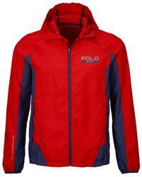 Polo Ralph Lauren | Red Polo Sport Water-resistant Windbreaker for Men | Lyst