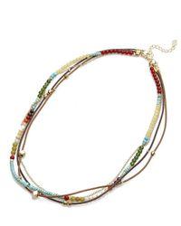 Nakamol - Multicolor Dorãƒâ© Necklace-turquoise Mix - Lyst