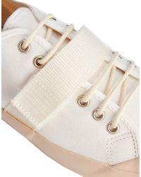 YMC - White Velcro Strap Plimsolls for Men - Lyst