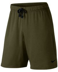 Nike | Natural Men's Dri-fit Touch Fleece Shorts for Men | Lyst