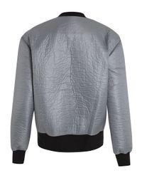 Libertine-Libertine | Silver Metallic Year Bomber Jacket | Lyst