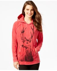 G.H. Bass & Co. | Red Deer Graphic Hoodie | Lyst