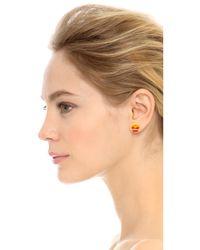 Venessa Arizaga | Multicolor Snack Attack Burger + Fries Earrings - Multi | Lyst