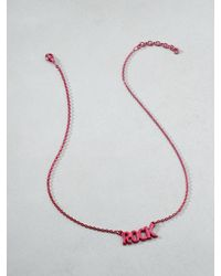 Patrizia Pepe | Red Junk Jewellery Necklace | Lyst