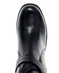 Carvela Kurt Geiger - Black Teddy Leather Boot - Lyst