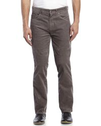 Billabong | Gray Straight Fifty Corduroy Pants for Men | Lyst