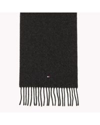 Tommy Hilfiger | Black Wool Scarf Gift Pack for Men | Lyst