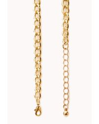 Forever 21 - Yellow Sleek Beaded Bib Necklace - Lyst