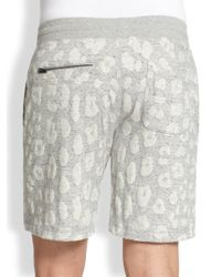 Marc By Marc Jacobs - Gray London Leopard Shorts for Men - Lyst