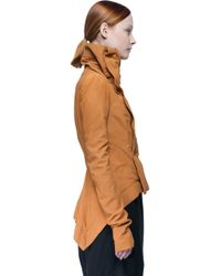 Rick Owens - Natural Naska Leather Biker Jacket  - Lyst