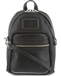 Marc Jacobs | Black Domo Biker Leather Cross-body Bag | Lyst