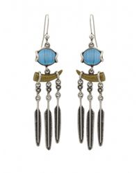 House of Harlow 1960 | Blue Ankolie Earrings | Lyst