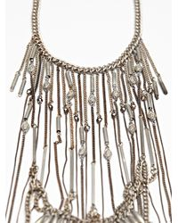 Free People | Metallic Mabel Fringe Statement | Lyst