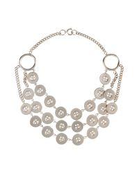 Moschino - Metallic Jewelry Set - Lyst