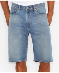Levi's - Blue 569 Loose-fit Shorts, Rinse for Men - Lyst