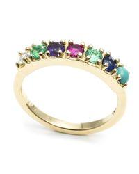 Lulu Frost | Metallic Code 18kt Dearest Ring | Lyst