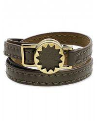 House of Harlow 1960   Brown Sunburst Wrap Bracelet   Lyst