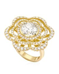 Theo Fennell | Metallic Buttercup Ring | Lyst