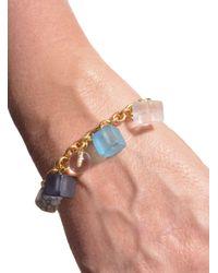Lily Kamper | Blue Tower Block Charm Bracelet - Sold Out | Lyst