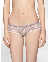 Calvin Klein - Natural Underwear Essentials Hipster - Lyst