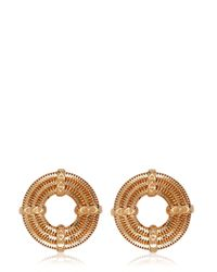 Lara Bohinc | Pink Apollo Stud Rose Earrings | Lyst