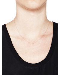 Joie | Pink Flirty Necklace White Diamond | Lyst