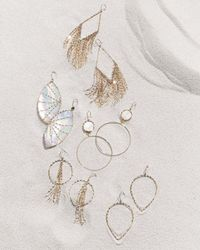 Lana Jewelry - Metallic Isabella Mother-of-pearl Marquise Drop Earrings - Lyst