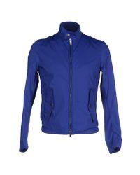 Obvious Basic   Blue Jacket for Men   Lyst
