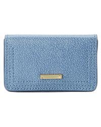 Lodis - Blue Stephanie Under Lock & Key Mini Card Case - Lyst