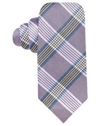 Vince Camuto | Purple Plaid Silk Tie for Men | Lyst