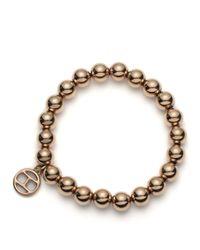 Tommy Hilfiger | Metallic Bead Bracelet | Lyst
